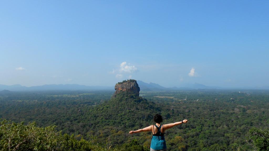 Sigiriya vu depuis le Pidurangala Rock