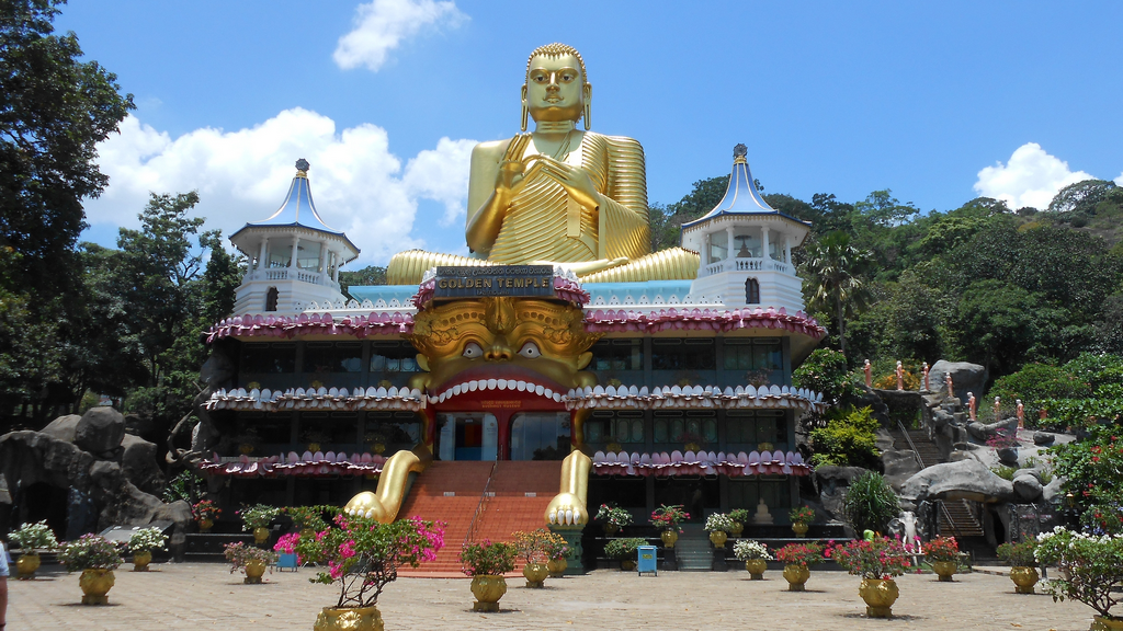 Golden Temple à Dambulla