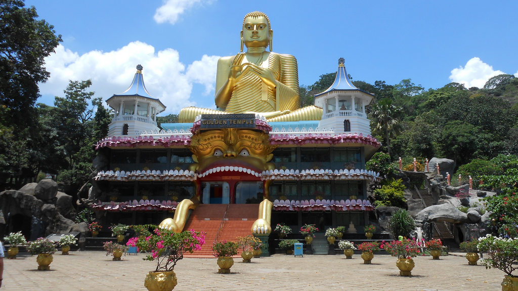 Golden temple - Dambulla