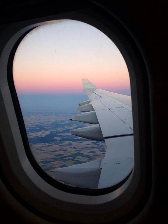 Hublot avion Togo