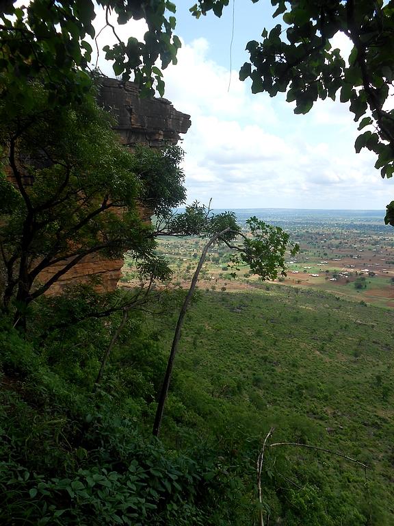 Panorama depuis les grottes