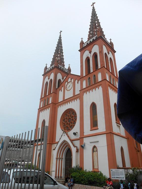 La cathédrale sacré coeur de Lomé