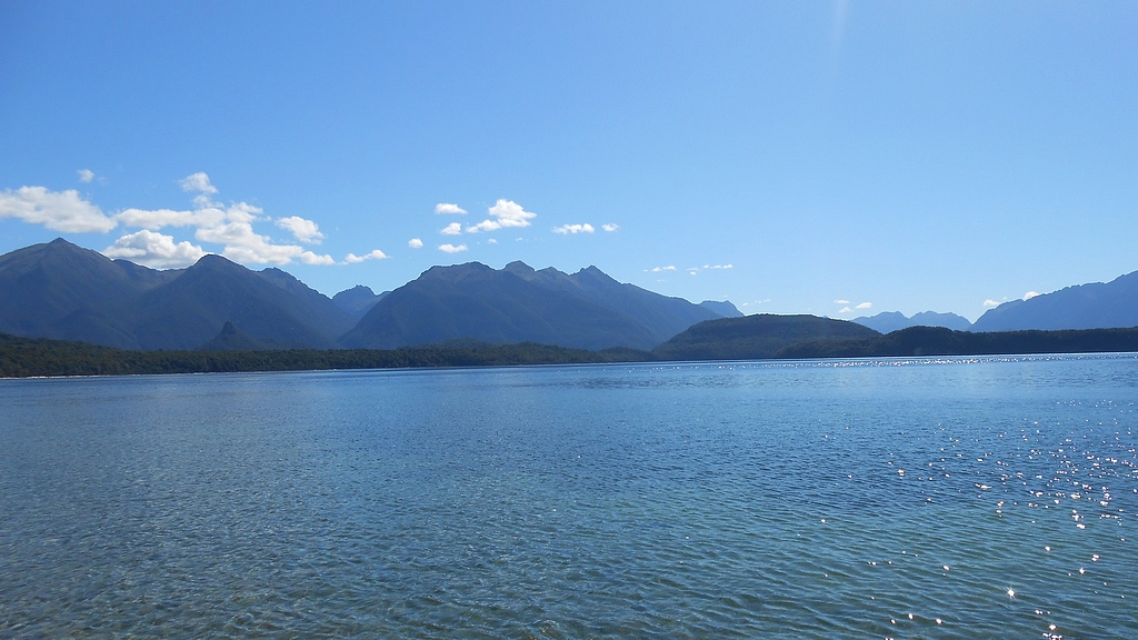 Manapouri lake