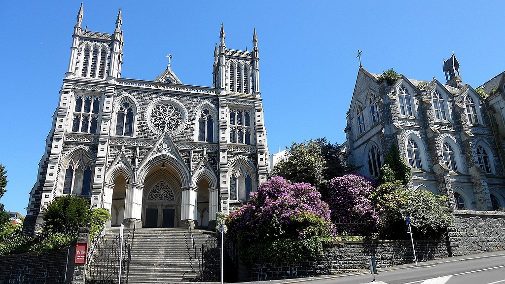 La cathédrale de Dunedin