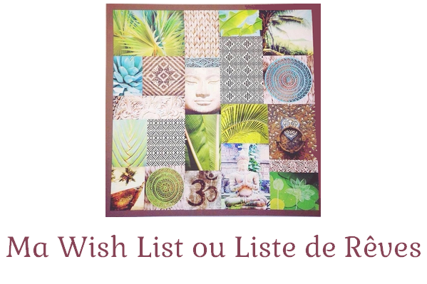 wish list liste de rêves