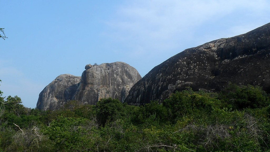 Elephant Rock à Yala
