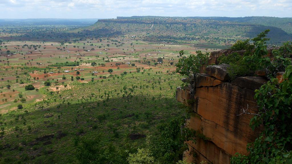 Panorama depuis le plateau