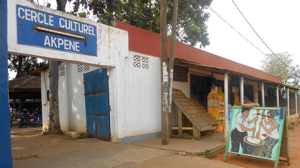 Le fufu bar à Lomé