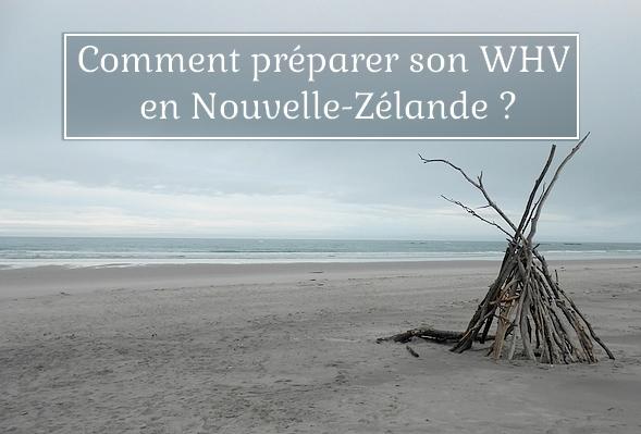 préparer son whv NZ couvertuure