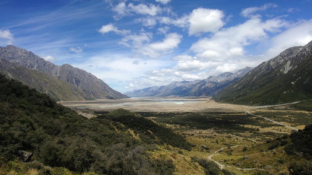 vallée de tasman