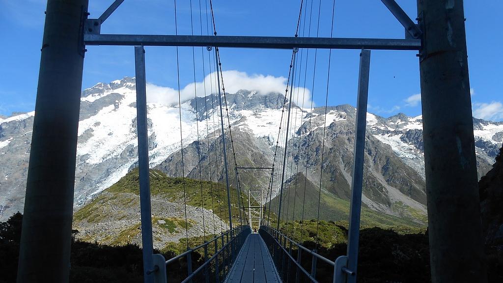 pont suspendu hooker valley