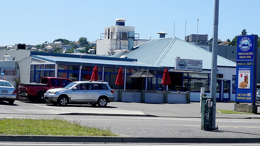 Hawkes bay seafood shop