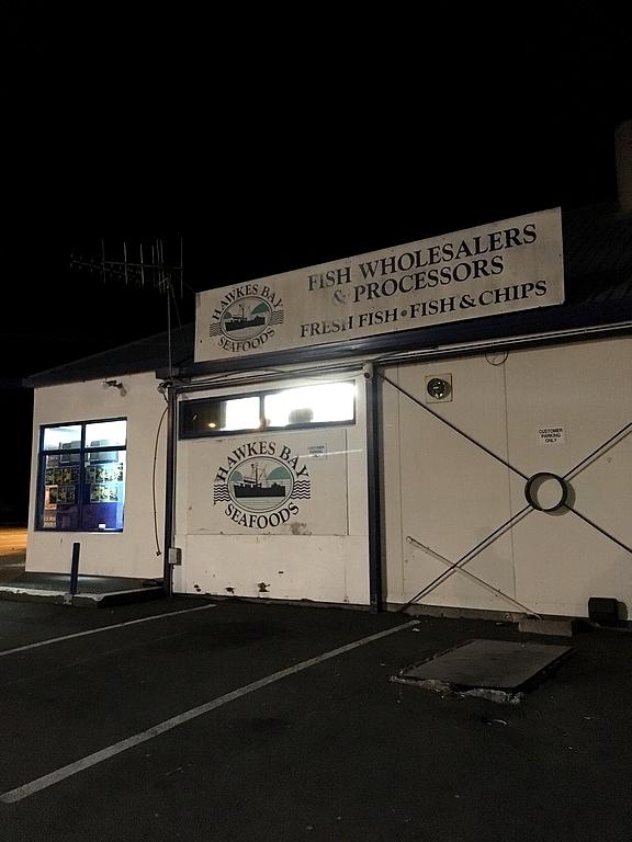 Hawkes bay seafood