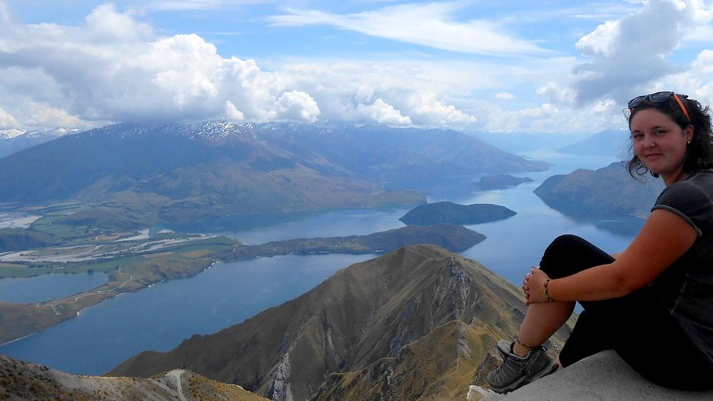 Roys Peak Nouvelle-Zélande novembre 2017