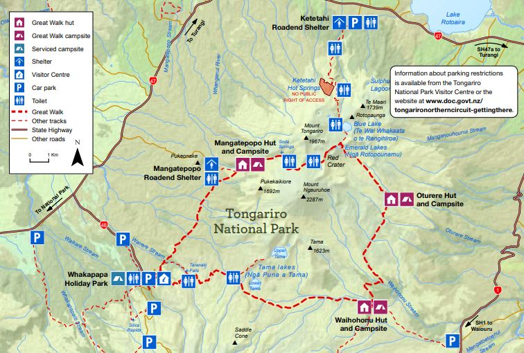 2.Tongariro Nothern Circuit