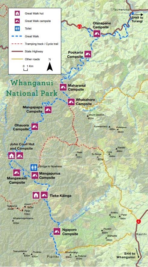 3. whanganui journey