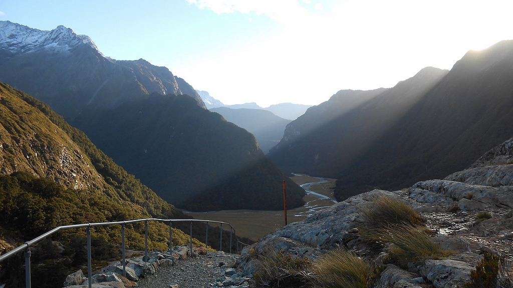 routeburn sunrise